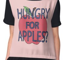 Hungry for Apples Chiffon Top