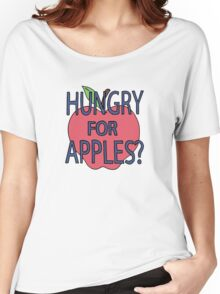 Hungry for Apples Women's Relaxed Fit T-Shirt