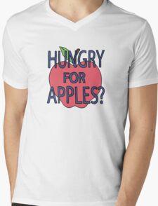 Hungry for Apples Mens V-Neck T-Shirt