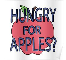 Hungry for Apples Poster