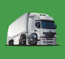cartoon delivery / cargo semi-truck Baby Tee