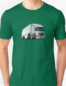 cartoon delivery / cargo semi-truck Unisex T-Shirt