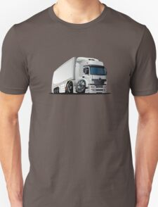 cartoon delivery / cargo semi-truck Unisex T-Shirt