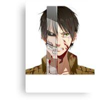 Past Eren's pain v2 Canvas Print