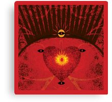 King of Heart Spaces Canvas Print