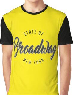 Broadway, New York Graphic T-Shirt