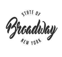 Broadway, New York Photographic Print