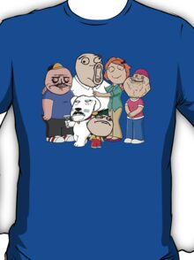 Family Guy Meme/Rage Faces T-Shirt