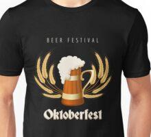 Beer Festival Emblem Unisex T-Shirt