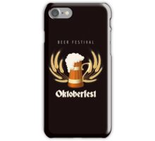 Beer Festival Emblem iPhone Case/Skin