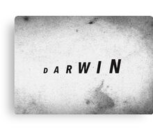 Darwin's Evolution Canvas Print
