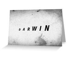 Darwin's Evolution Greeting Card