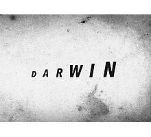 Darwin's Evolution Photographic Print