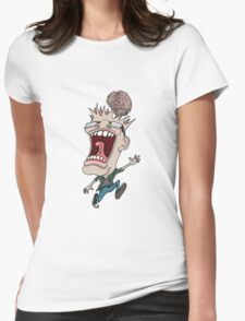 Braindead Maniac Womens Fitted T-Shirt