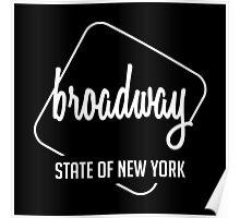 Broadway Of New York Poster