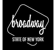 Broadway Of New York Photographic Print