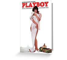 Playboy December 1962 Greeting Card