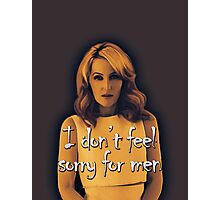 Gillian Anderson feels no sorry for men Photographic Print