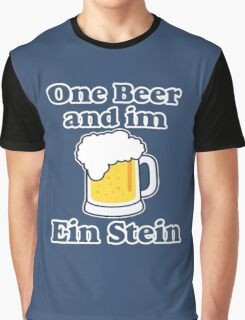 One Beer Ein Stein Graphic T-Shirt