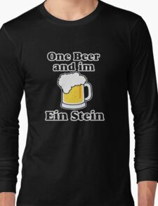One Beer Ein Stein Long Sleeve T-Shirt