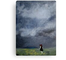 Nothing Could Stop Her Canvas Print