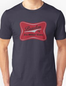 Braxton - Miller Time #1 - Houston Texans - Blue Unisex T-Shirt