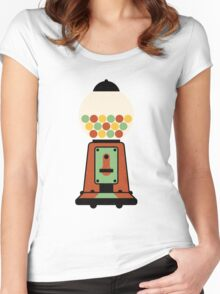 Gumball Machine Women's Fitted Scoop T-Shirt