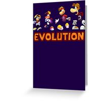 Rayman Evolution Greeting Card