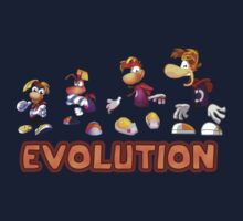 Rayman Evolution by LagginPotato