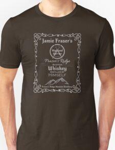 Jamies whiskey label Unisex T-Shirt