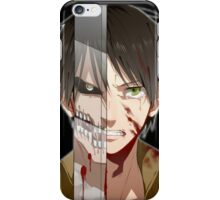 Past Eren's pain iPhone Case/Skin