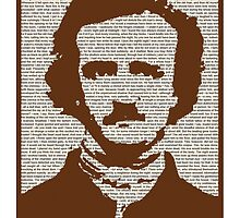 Edgar Allan Poe w/ border! by Colton Belley