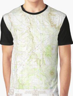 USGS TOPO Map Arizona AZ Howard Mesa 311824 1989 24000 Graphic T-Shirt