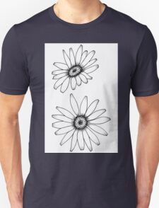 Daisy Drawing Unisex T-Shirt