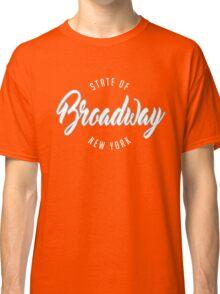 The Broadway ST, New York Classic T-Shirt