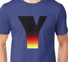 """Y"" Letter Comic Book Style Unisex T-Shirt"