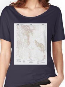USGS TOPO Map Arizona AZ Gakolik Mountains 20111025 TM Women's Relaxed Fit T-Shirt