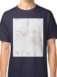 USGS TOPO Map Arizona AZ Silver Bell West 20111022 TM Classic T-Shirt