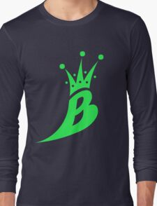 Lil' Kim The Queen Bee Collection Logo - Green  Edition Long Sleeve T-Shirt