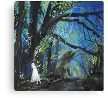 She Wondered as Often as She Wandered  Canvas Print