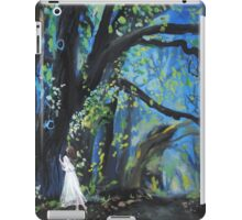 She Wondered as Often as She Wandered  iPad Case/Skin