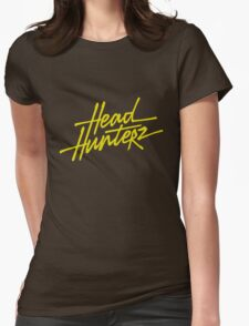 headhunterz logo Womens Fitted T-Shirt