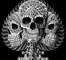 Skull Spade by BioWorkZ