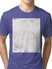 USGS TOPO Map Arizona AZ Steele Hills 313542 1996 24000 Tri-blend T-Shirt