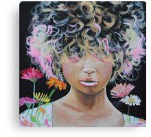 Kissed by Asteraceae Canvas Print