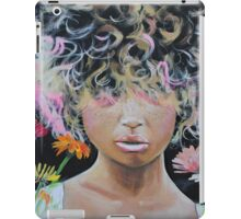 Kissed by Asteraceae iPad Case/Skin