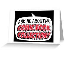 COMIC BOOKS! Greeting Card