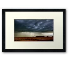 Grey Skies Are Going To Clear Up Framed Print