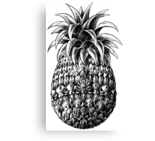 Ornate Pineapple Canvas Print