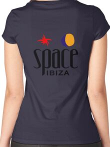 The Space Ibiza Women's Fitted Scoop T-Shirt